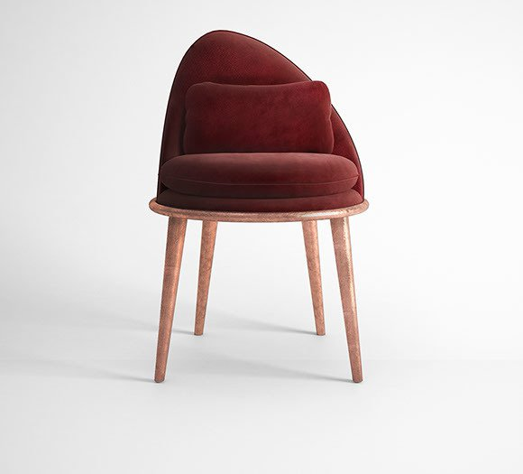 Garnet dining chair muranti furniture v1