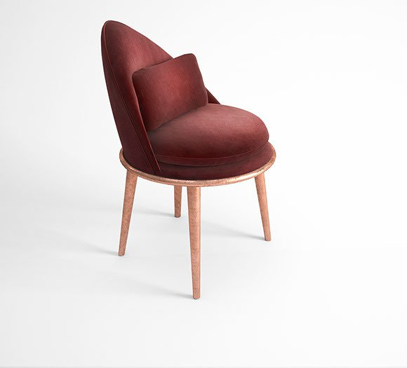 Garnet dining chair muranti furniture v4
