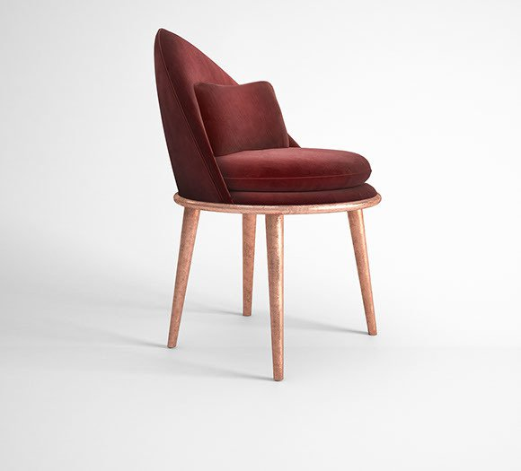 Garnet dining chair muranti furniture v3