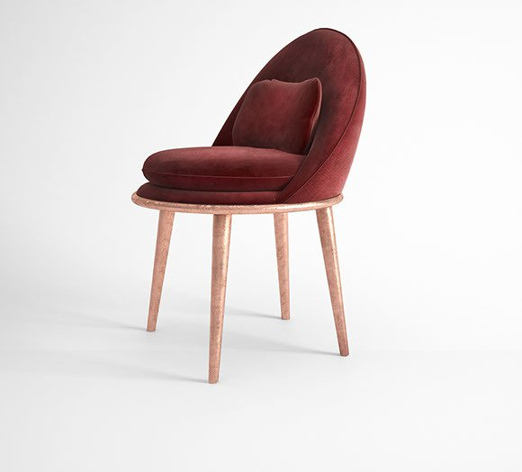 Garnet dining chair muranti furniture v2