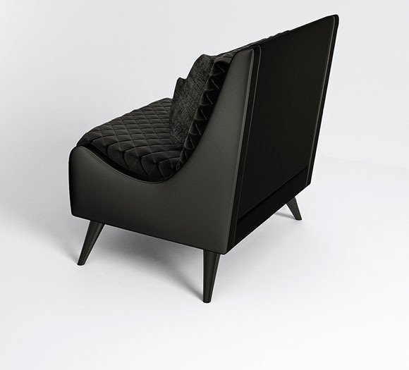 Jasper armchair by muranti v4