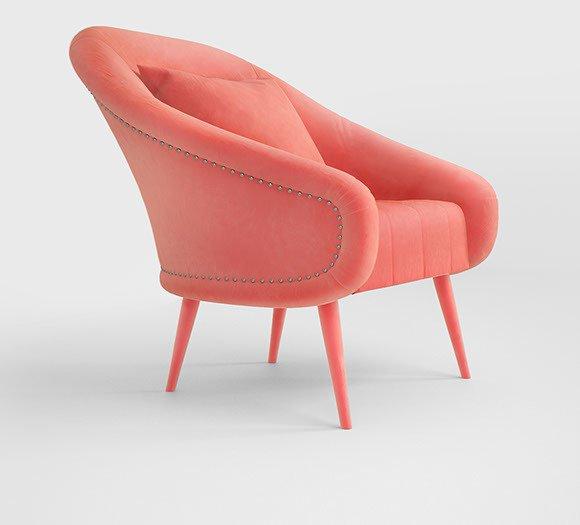 Andesine armchair by muranti v2