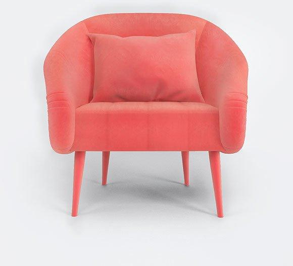 Andesine armchair by muranti v1