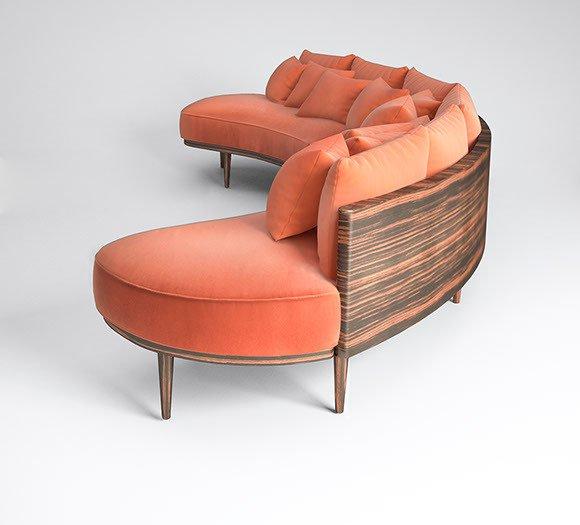 Carnelian sofa by muranti v1