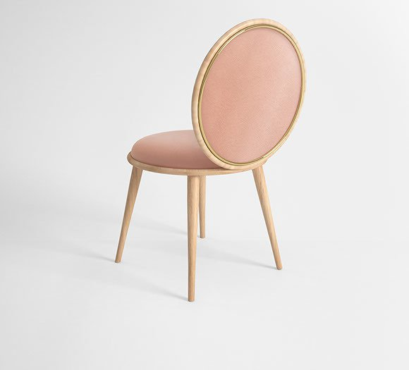 Morganite dining chair v3