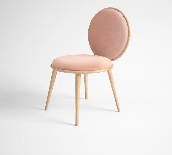 Morganite dining chair v2