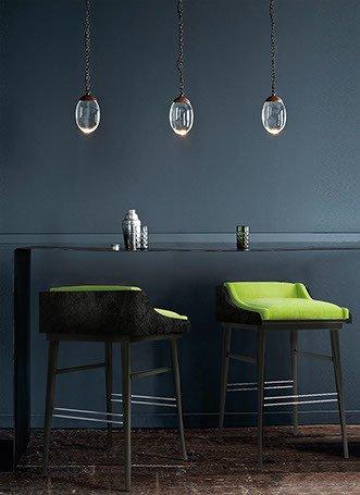 Moldavite bar stool inspiration 01