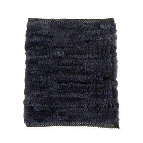 Hand-woven Lamb Rug - Dark Grey