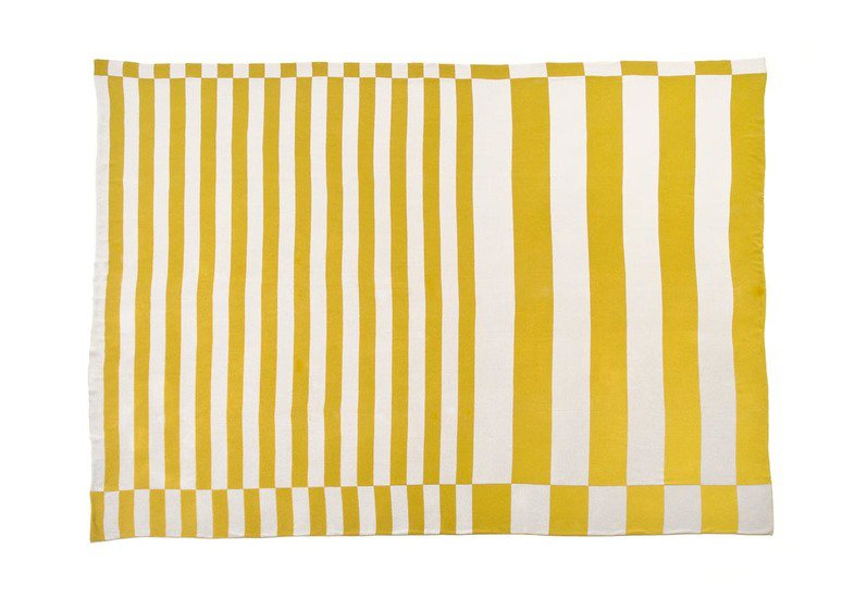 Gold silver stripes fabric licini roberta treniq 2