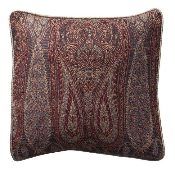 Paisley small cushion grey weave 12x12