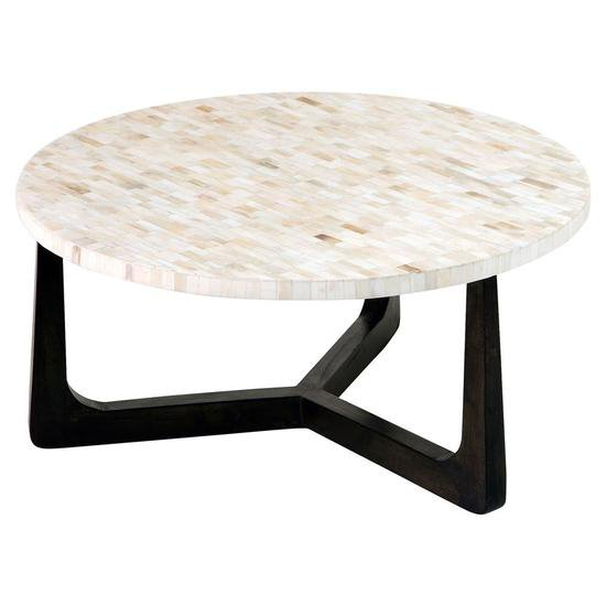 Mother Of Pearl Coffee Table Antique