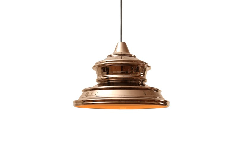 Keys lamp gold