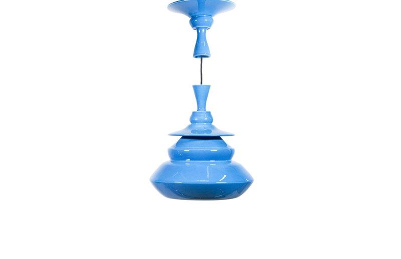 Shoes lamp 23 blue