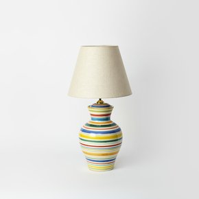 Handpainted Stripes Lamp