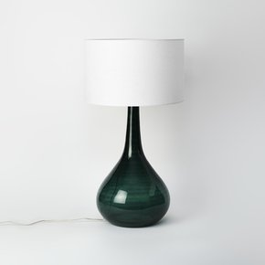 Tall Green Table Lamp