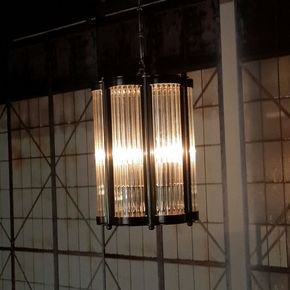 Hanging Pyrex Suspension Lamp