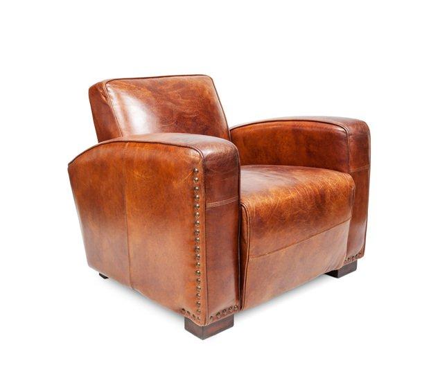 Leather club chair shakunt impex pvt. ltd. treniq 1 1489130141442