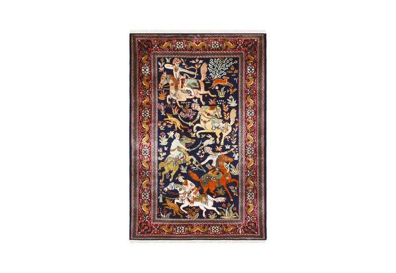 Hunting sultanate handmade carpet yak carpet treniq 1