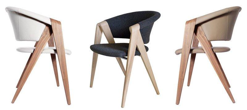 Spin designer armchair in walnut or oak imagine outlet  treniq 2 1489603954583
