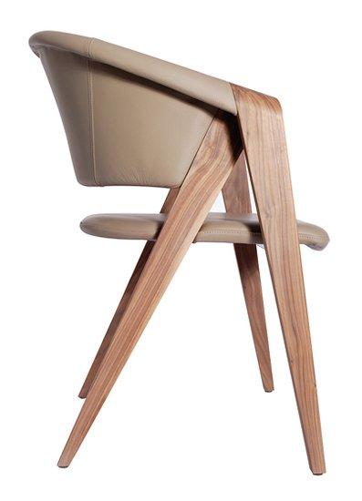 Spin designer armchair in walnut or oak imagine outlet  treniq 2 1489603998608