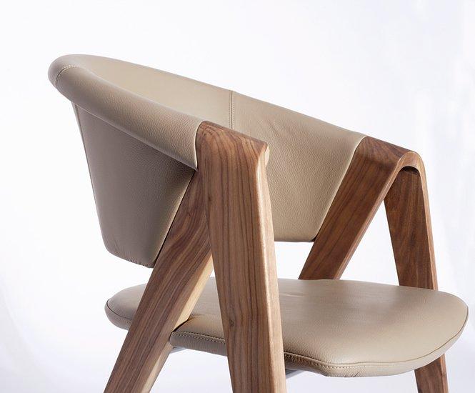 Spin designer armchair in walnut or oak imagine outlet  treniq 2 1489603998607