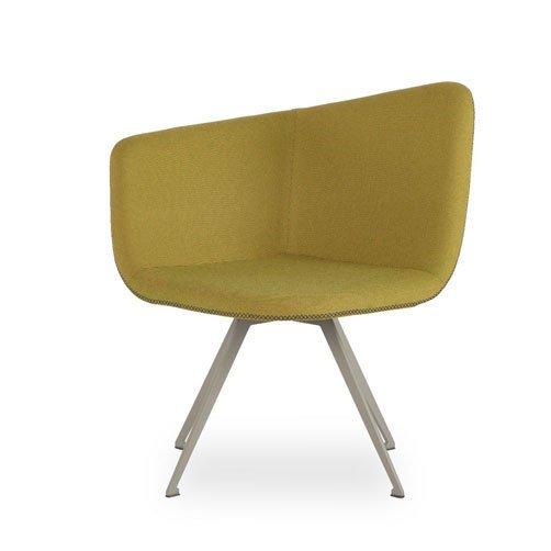 Domino swivel metal leg form furniture treniq 1 1490161547402