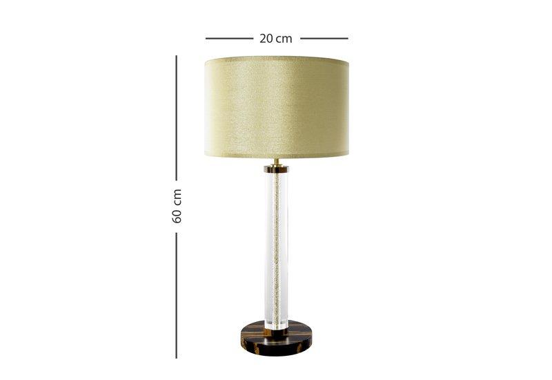 Halo tiger bamboo table lamp glenn stableford 5