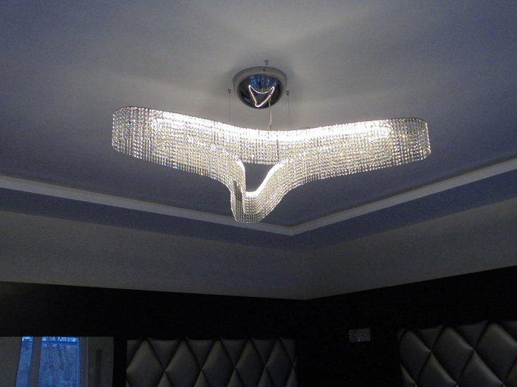 Star three point chandelier small cryst ltd. treniq 5 1490197953132