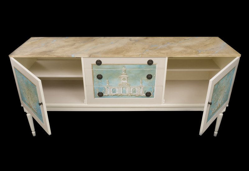 Chinoiserie sideboard kensa designs treniq 5