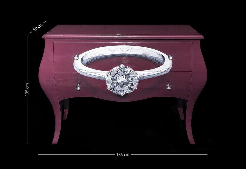 Diamond ring sideboard kensa designs treniq 6