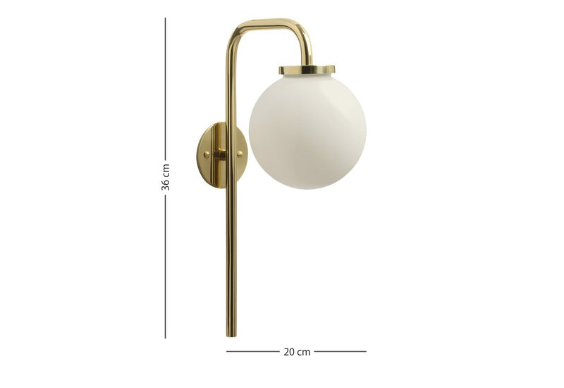 Big bulb opal lamp cto lighting treniq 5
