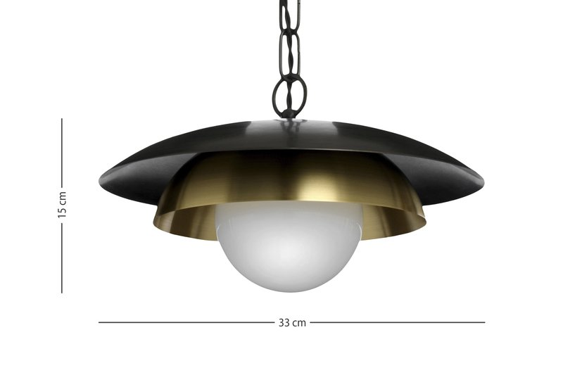 Carapace pendant lamp cto lighting treniq 6