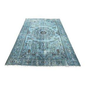 Blue-Overdyed-Vintage-Rug_Istanbul-Carpet-_Treniq_1