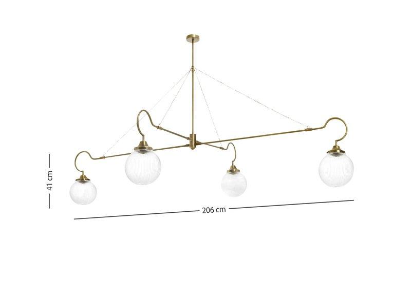Floren 4 arm lamp cto lighting treniq 6