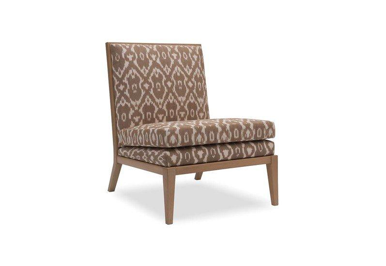 Superieur Madeleine Sandstone Ikat Slipper Chair Iqrup And Ritz Treniq 1 1490695835868