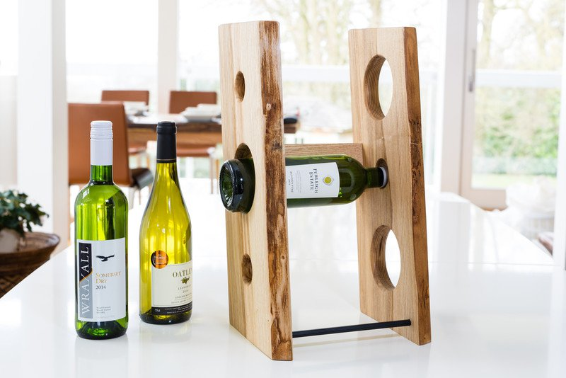 Ash Table Top Wine Rack Contemporary By Forest To Home Treniq