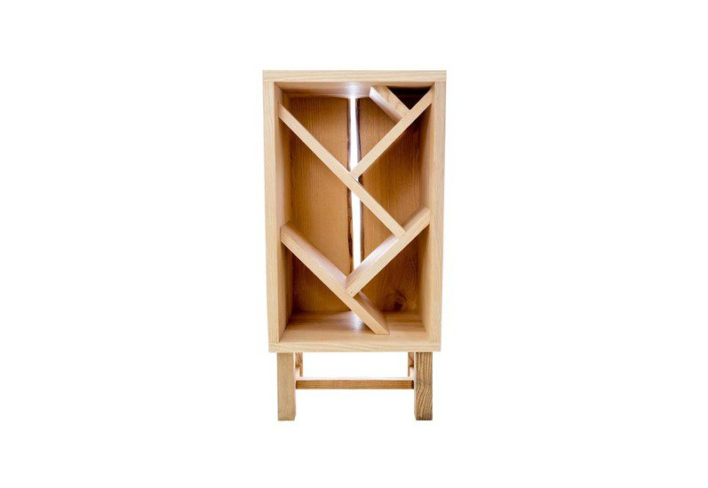 Ash wine bottle display unit forest to home treniq 1 1490815663152