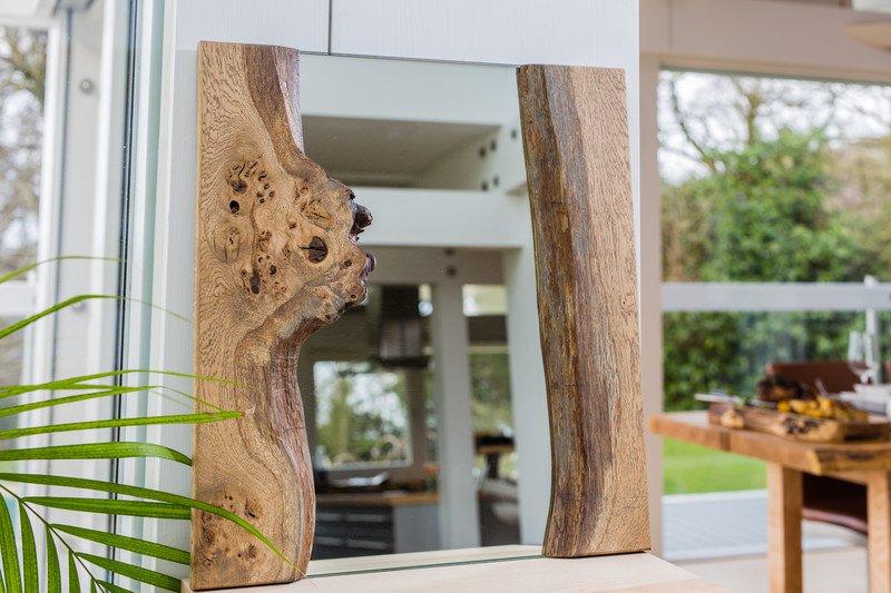 Live edge pippy oak mirror forest to home treniq 1 1490817335297
