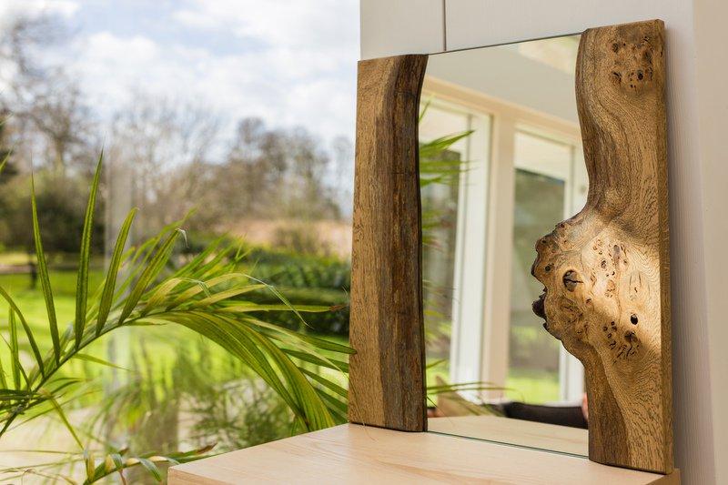 Live edge pippy oak mirror forest to home treniq 1 1490817380192
