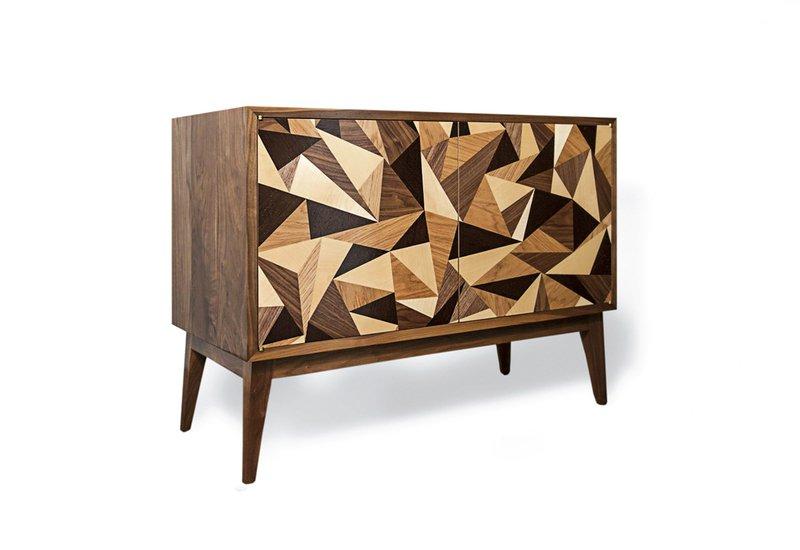 Cubist credenza cabinet chris turner 1