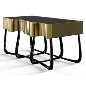 Sinuous Nightstand - Boca-Do-Lobo - Treniq