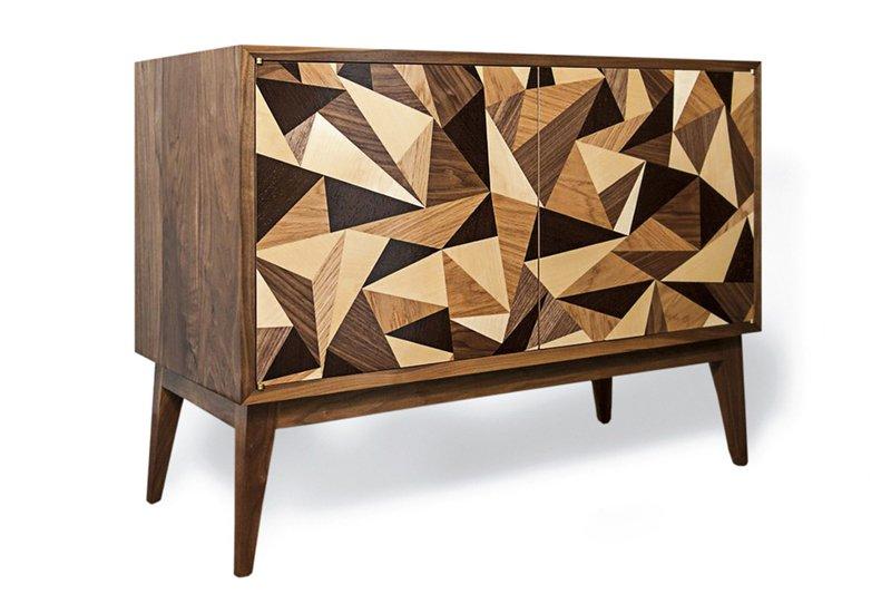 Cubist credenza cabinet chris turner 2