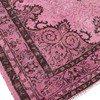 Pink overdyed handmade rug istanbul carpet  treniq 6 1490953667421