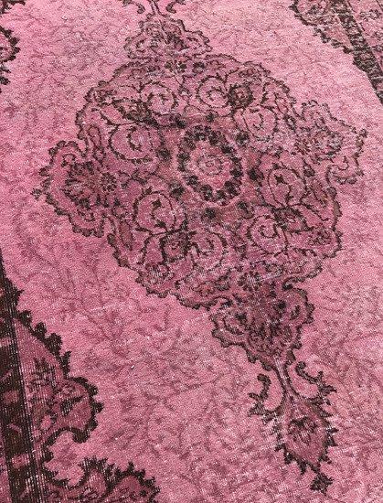 Pink overdyed handmade rug istanbul carpet  treniq 6 1490953667423