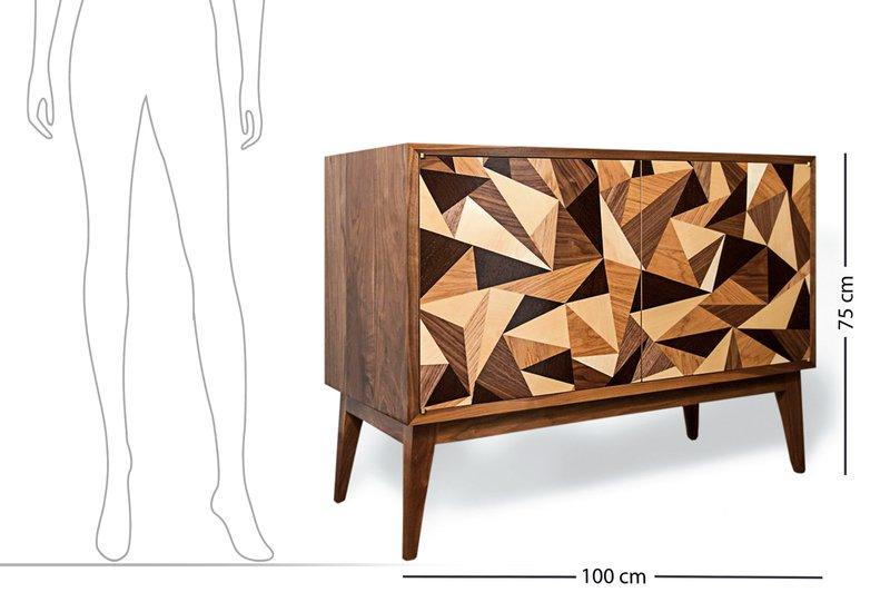 Cubist credenza cabinet chris turner 8