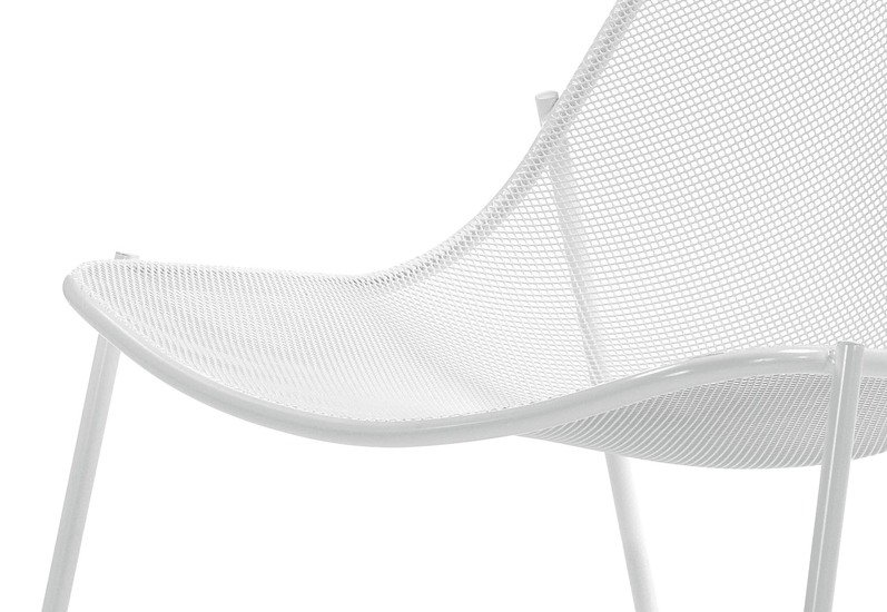Round Lounge Chair Contemporary By Emu Group S P A Treniq