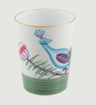 Limoges handpanted peacock   blossom goblet set 4 rachel bates interiors ltd treniq 1 1491403458260