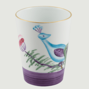 Limoges-Handpanted-Peacock-&-Blossom-Goblet-Set-4_Rachel-Bates-Interiors-Ltd_Treniq_4