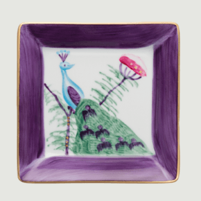 Limoges-Hand-Painted-Medium-Square-Dish-Set-Of-4-Mixed-Colours_Rachel-Bates-Interiors-Ltd_Treniq_2