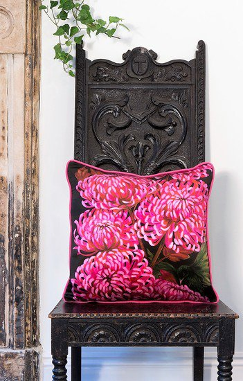 Chrysanths nuit cushion collection lux   bloom treniq 2 1491562573725